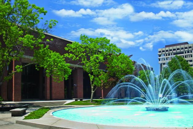 UWM Campus Fountain